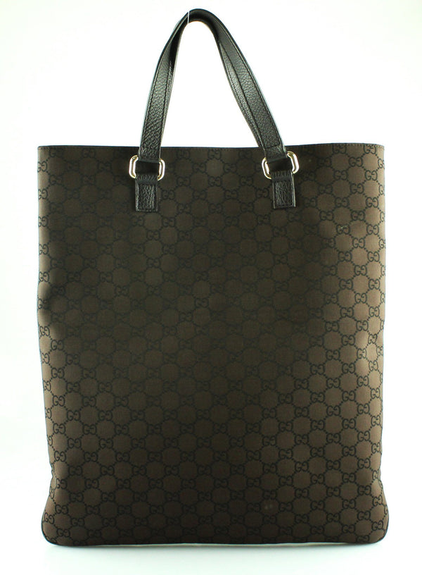 Gucci Brown GG Canvas North South Tote