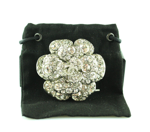 Chanel 2001V Bijou Strass Brooch Large