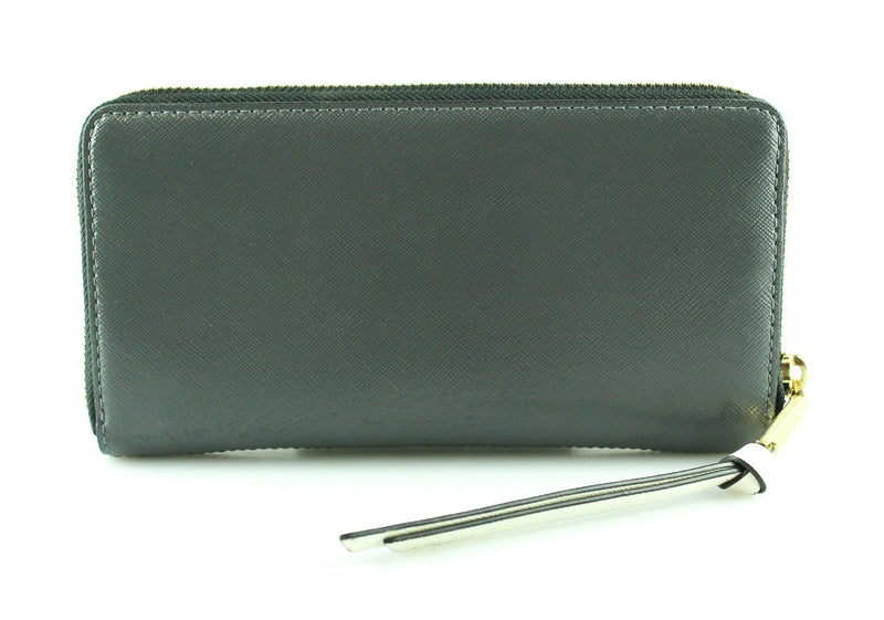 Marc Jacobs Black/Grey/Cream The Snapshot Standard Continental Wallet RRP €220