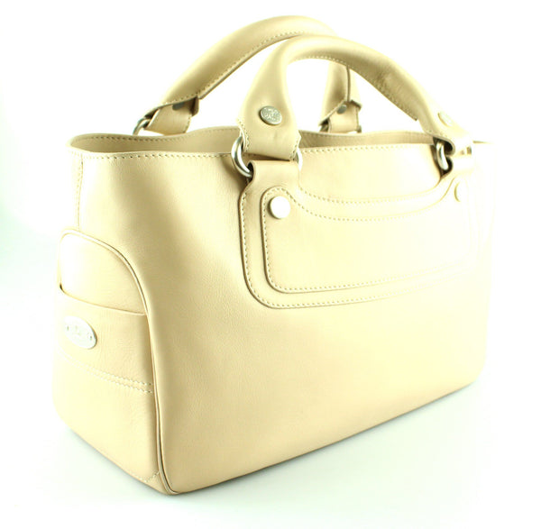 Celine Nude Leather Boogie Bag