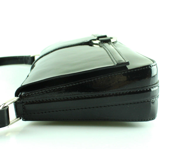 LK Bennett Black Barna Shoulder Bag