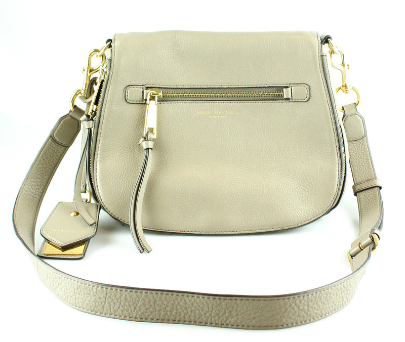 Marc Jacobs Recruit Saddle Bag Dark Taupe