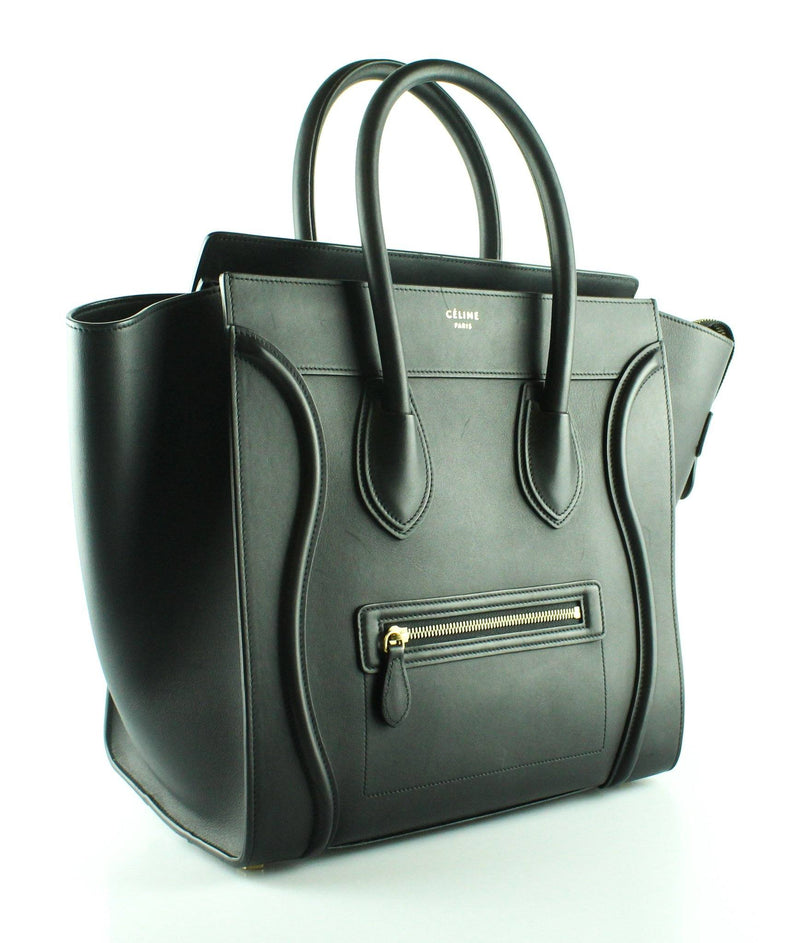Celine Mini Luggage In Black Natural Calfskin RRP €2650