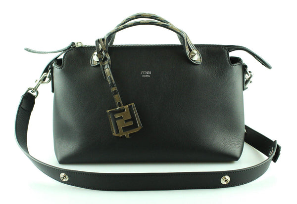 Fendi By The Way Medium In Black Calf Leather RRP €1550