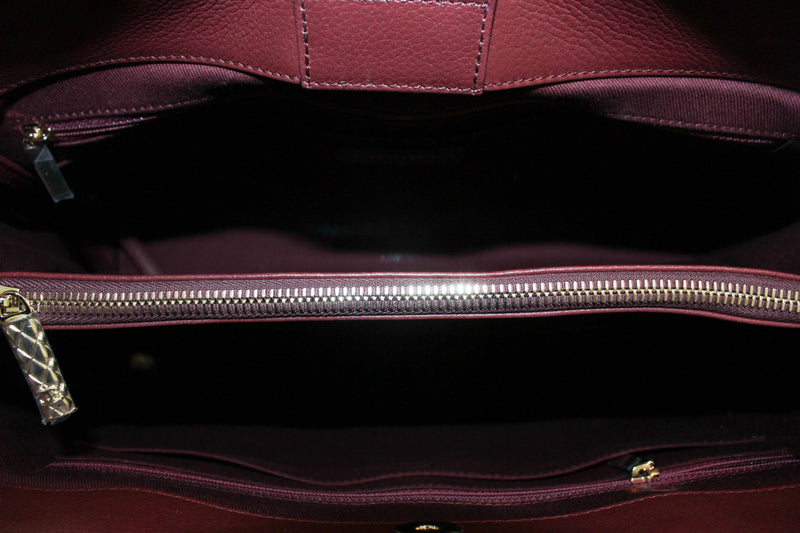 Chanel Neo Executive Tote Bordeaux Large Grained Calfskin SH 2017