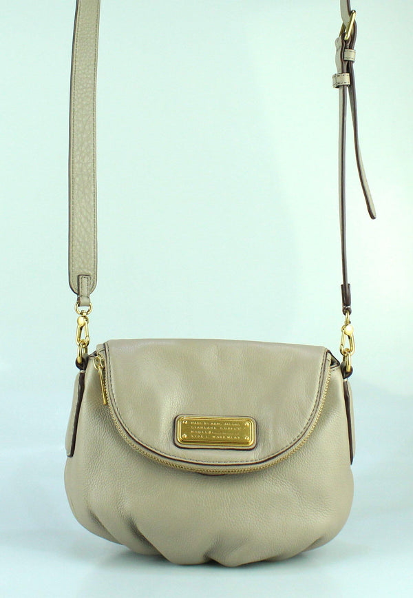 Marc By Marc Jacobs Taupe Leather Mini Natasha GH