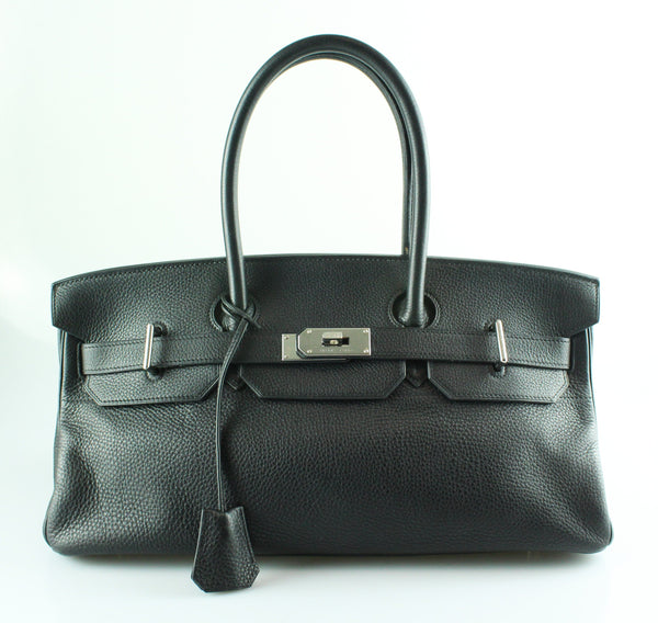 Hermes JPG Birkin Black Togo Leather SH 2005