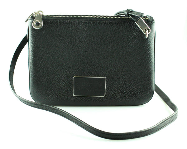 Marc Jacobs All Black Ligero Double Percy Cross Body SH