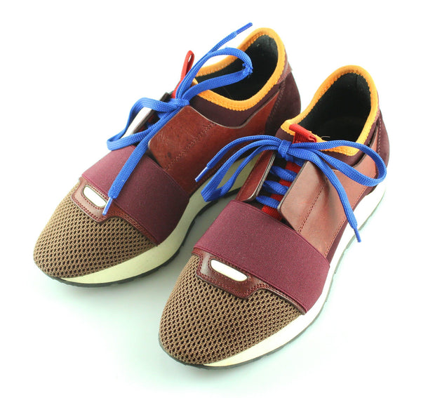 Balenciaga Tri Colour Wine Race Runner 37/4 RRP €495