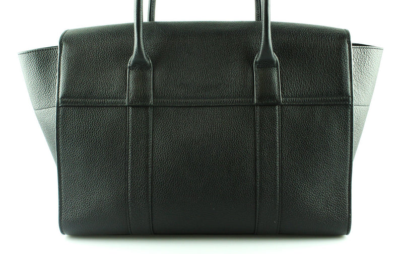 Mulberry Black Grained Leather New Style Bayswater GH