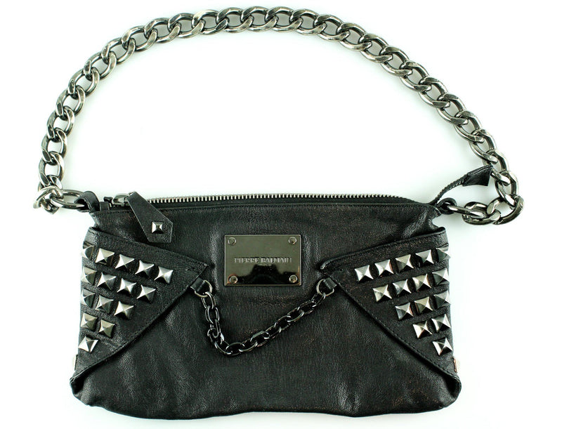 Pierre Balmain Studded Chain Shoulder Bag