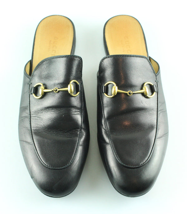 Gucci Princetown Black Slipper 39/6 RRP €575