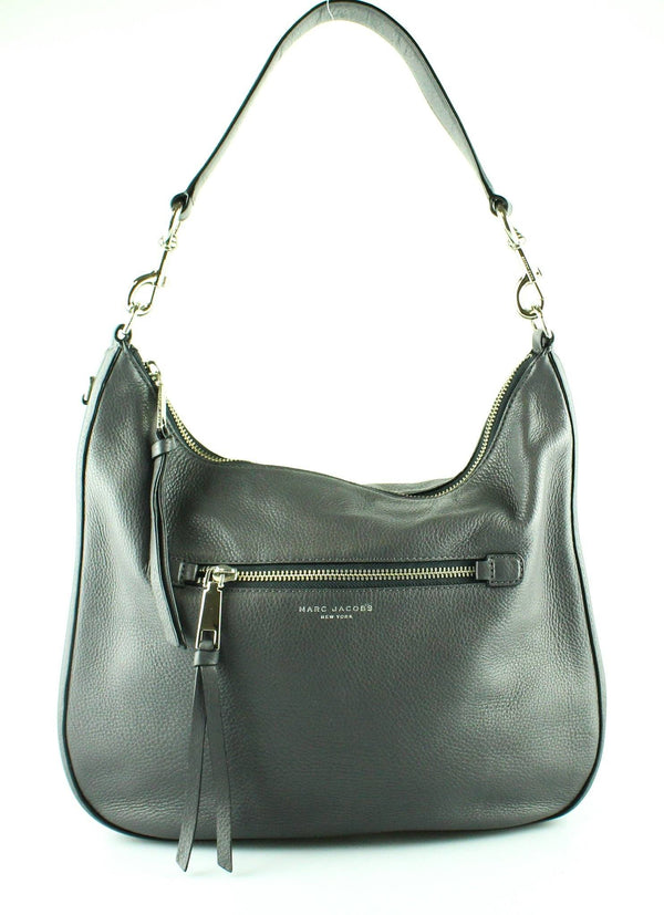 Marc Jacobs Grey Recruit Hobo (2)
