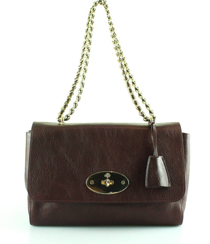 Mulberry Medium Lily Oxblood Gold Hardware RRP €1195