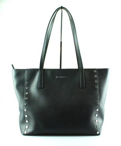 Michael Kors Black Rivington Studded Tote