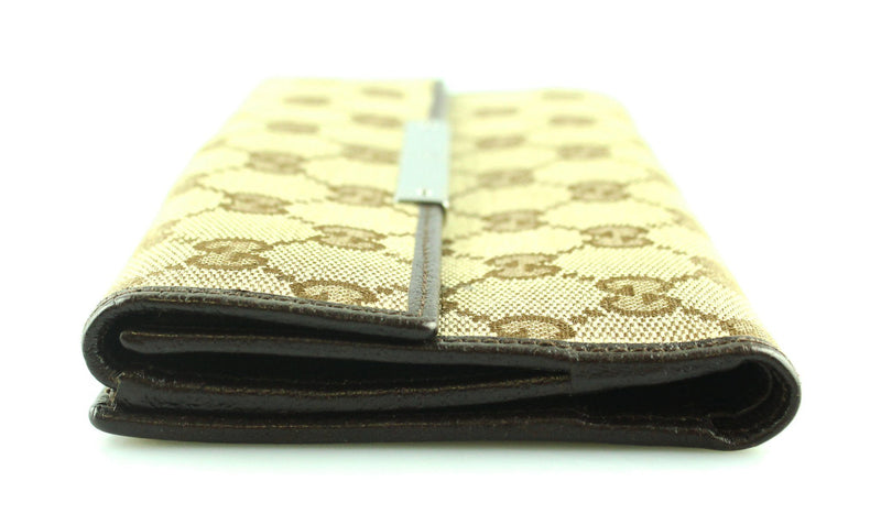 Gucci GG Continental Long Flap Wallet