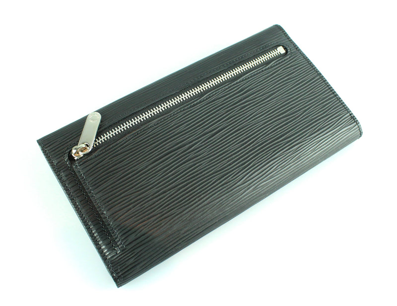 Louis Vuitton Black Epi Eugenie Wallet MI0028