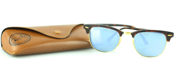 Rayban Tortoise Shell Mirrored Clubmaster RB3016