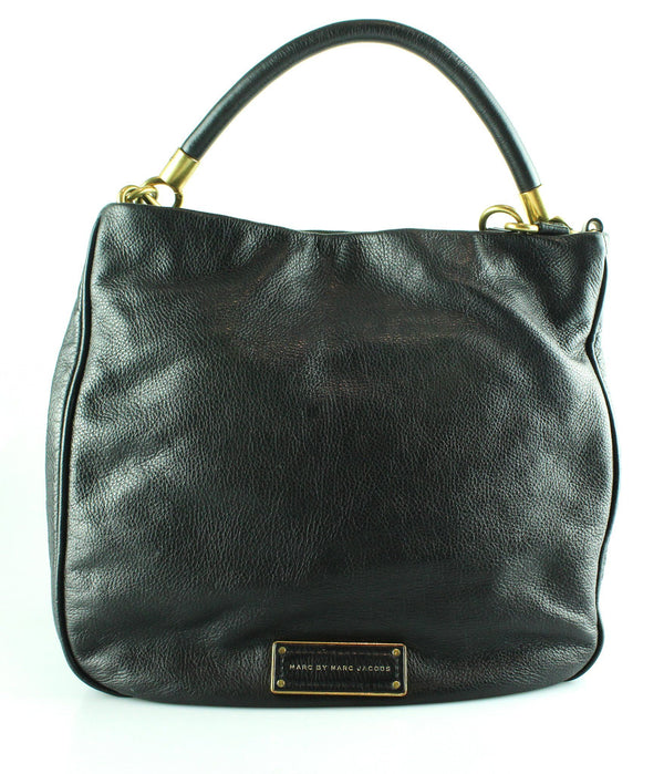 Marc By Marc Jacobs Black Leather Too Hot To Handle Hobo GH 2