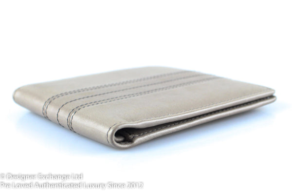 Tod's Taupe Leather Flap wallet