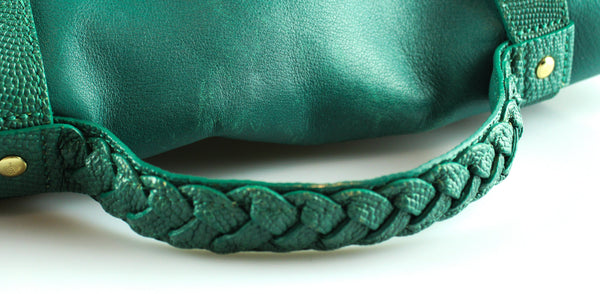 Mulberry Oversize Alexa Jungle Green Soft Buffalo GH