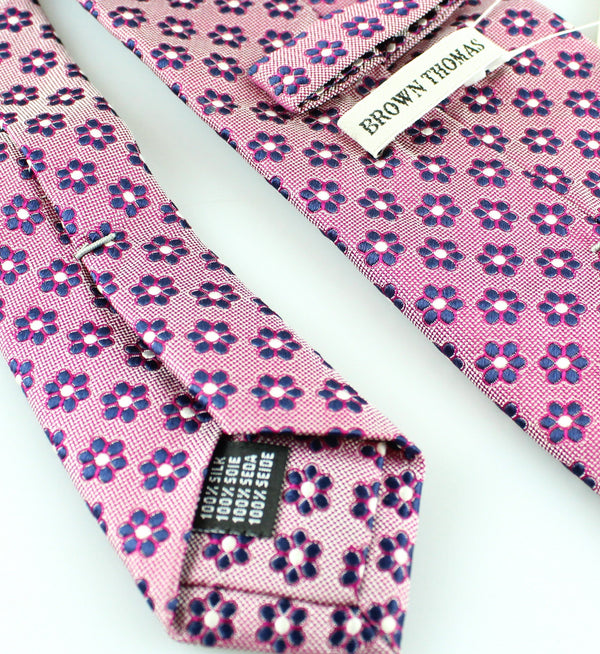 Brown Thomas Floral Silk Tie