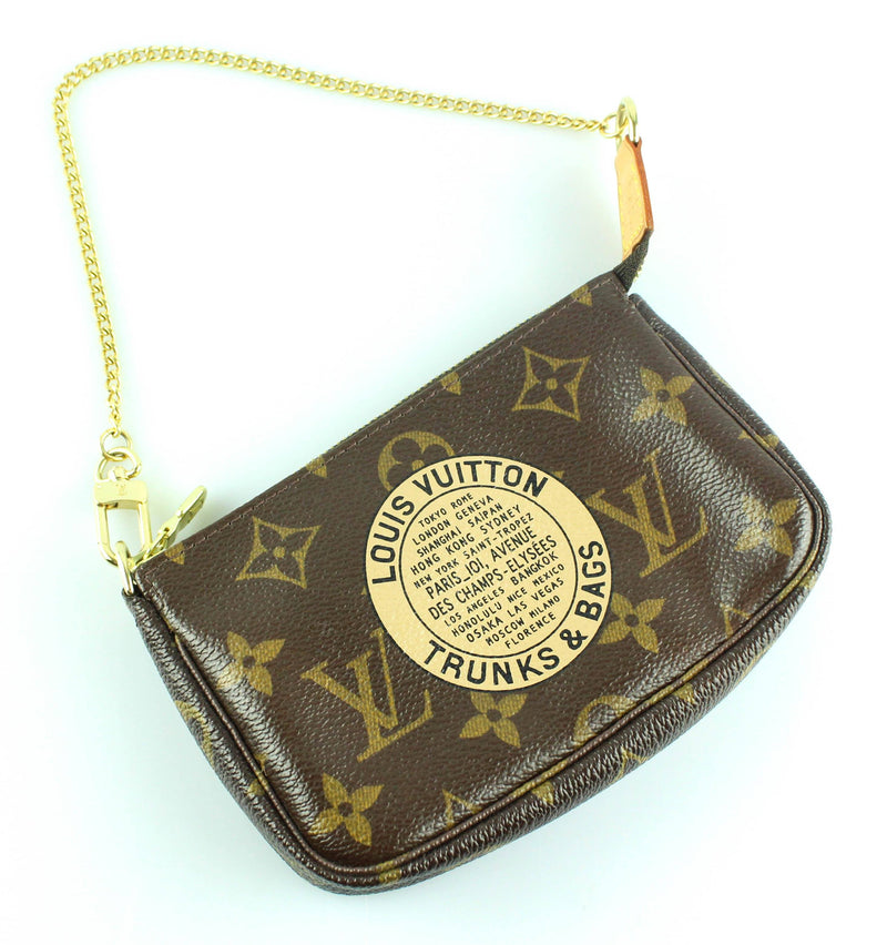 Louis Vuitton Mini Pochette Accessoire Trunks And Bags Motif FL2097