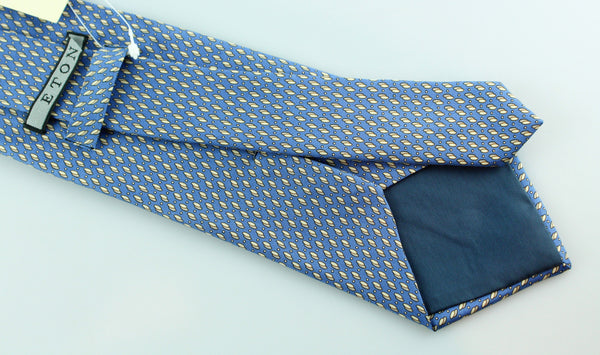 Eton Blue & Oval Design Tie