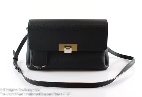 Balenciaga Le Dix Souft Courrier Black