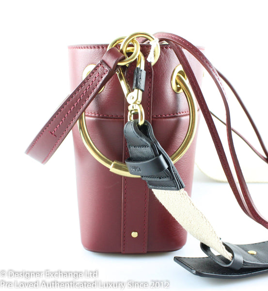 Chloe Roy Mini Plum Purple Bucket Bag Smooth Calf RRP €1150