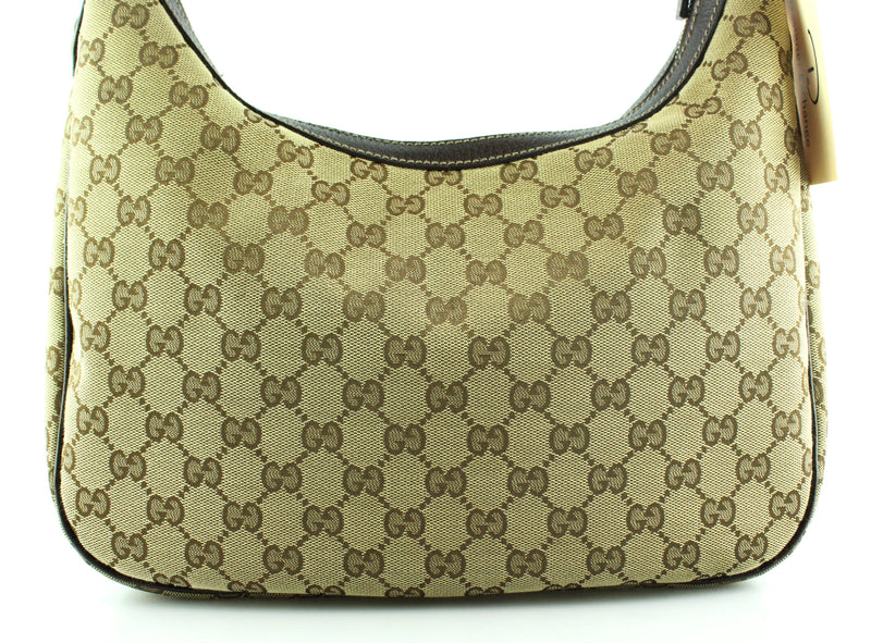 Gucci GG Canvas Charm Hobo Medium