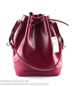 Louis Vuitton Fuchsia Epi Leather Noe GM TJ0173