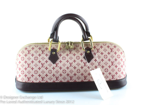 Louis Vuitton Mini Lin Cherry Horizontal Alma AR0091 7ff71b7d0f457