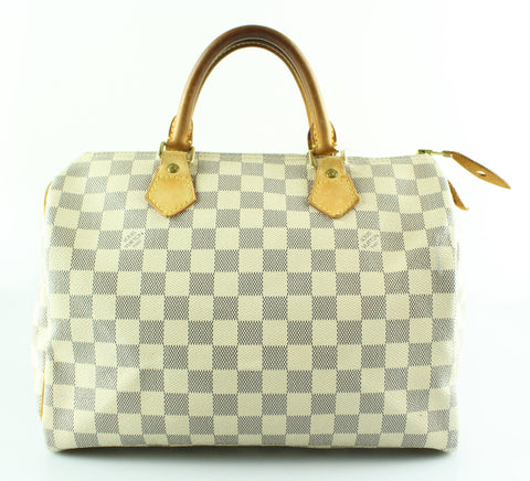 Louis Vuitton Damier Azur Speedy 30 SP1027