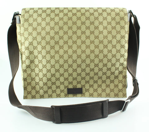 Gucci GG Canvas Large Messenger Bag