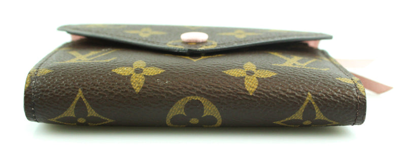 Louis Vuitton Monogram Victorine Wallet Rose Ballerina RRP €370 MI5108