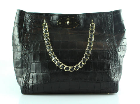 Mulberry Soft Croc Embossed Cecily Tote GH