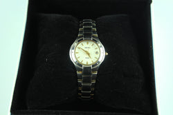 Seiko Stainless Steel Two Tone Small Dial Watch