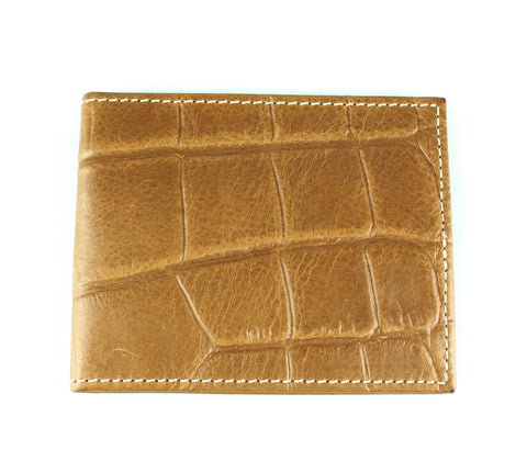 Mulberry Congo Tan Leather Flap Wallet