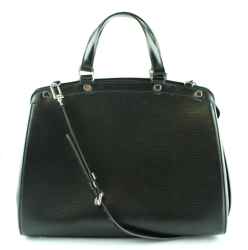 Louis Vuitton Black Epi Leather Brea GM SH