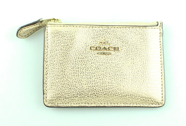 Coach Rose Gold Card Case GH