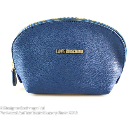 Love Moschino Blue Cosmetic Pouch GH