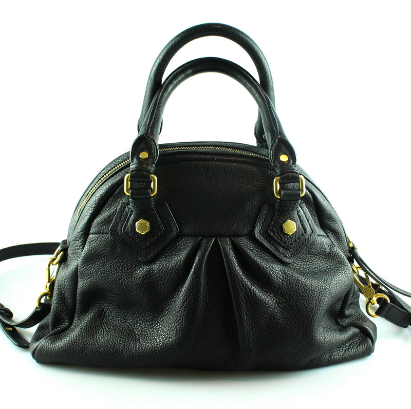 Marc Jacobs Black Leather Groovee Large Bag GH