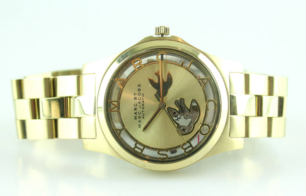 Marc By Marc Jacobs Henry Icon Gold watch