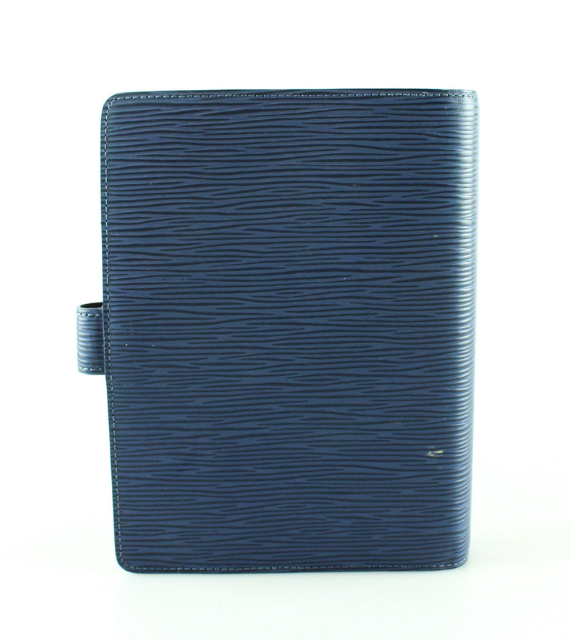 Louis Vuitton Myrtille Blue Epi leather Agenda MM SP0035