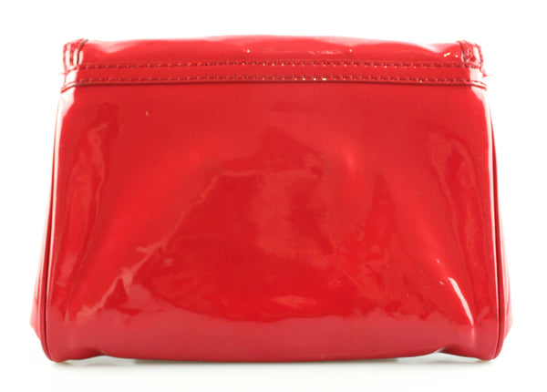 Marc By Marc Jacobs Patent Clutch Cherry