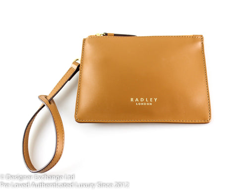 Radley Smooth Leather Tan Pouch GH