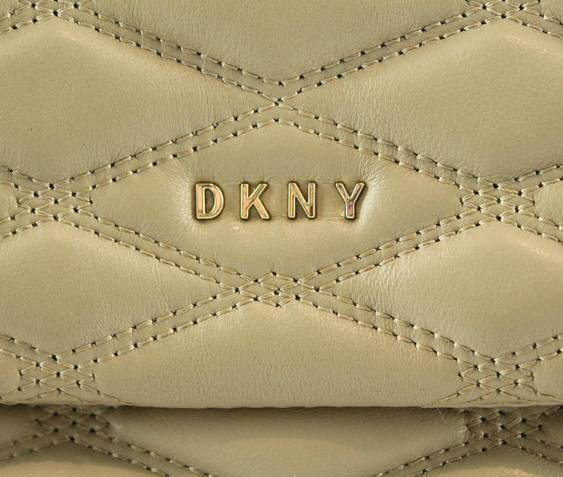 DKNY Beige Quilted Mini Chain Cross Body GH