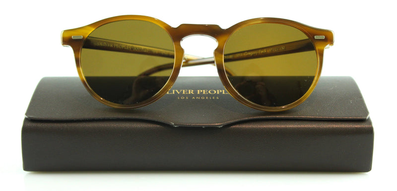 Oliver Peoples Gregory Peck Polarized Raintree Sunglasses Ex Display