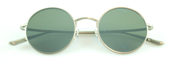 Oliver Peoples The Row Brownstone 2 Silver Frame Sunglasses Ex Display